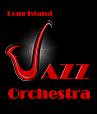 Logo for the Long Island Jazz Orchestra.